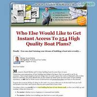 Coupon for plans4boats hundreds of boat plans unique niche cheap traffic