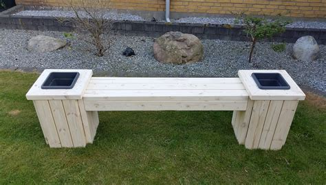 Planter bench plans Image