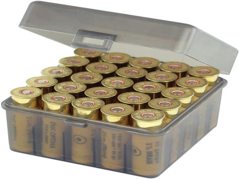 Plastic Shotgun Ammo Box