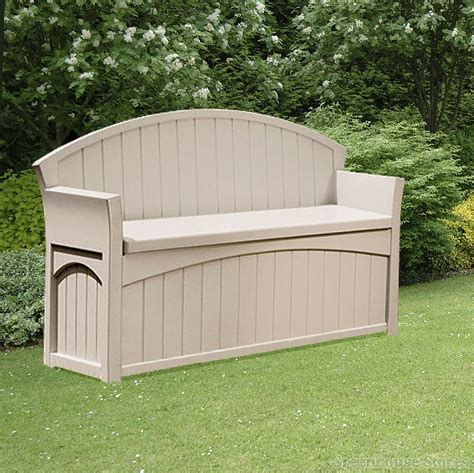 Plastic Benches With Storage Image