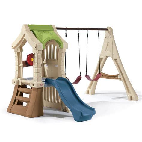 Plastic swing sets australia Image
