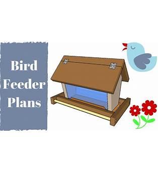 Platform Feeders Plans Birds