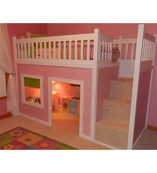 Playhouse Loft Bed Building Plans