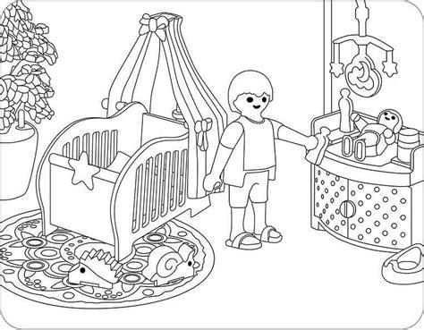 Playmobil Ausmalbild Krankenhaus