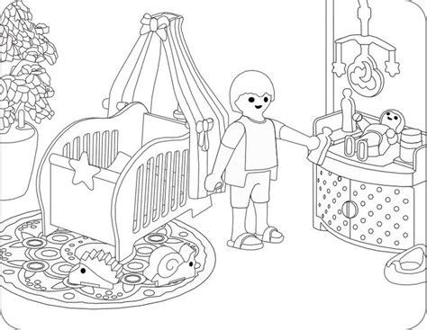Playmobil Ausmalbilder Baby