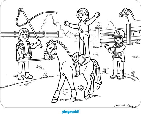 Playmobil Ausmalbilder Gratis