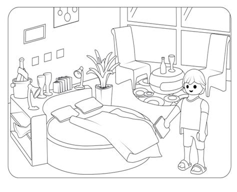 Playmobil Ausmalbilder Kostenlos