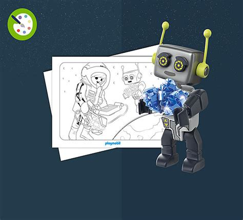 Playmobil Ausmalbilder Mars