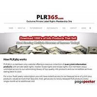 Plr365 com top private label membership site promotional code