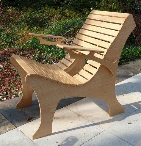 Plywood chair plans Image