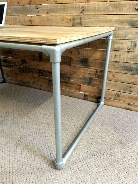 Plywood Pvc Pipe Desk Plans