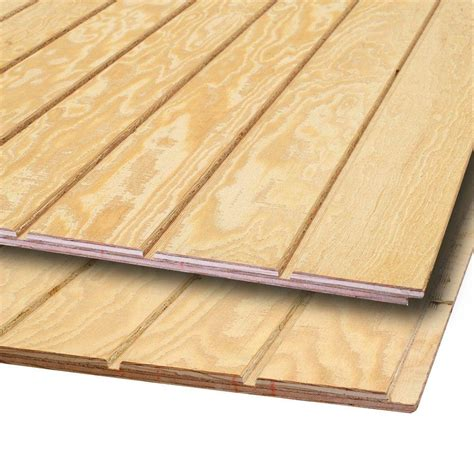 Plywood siding panels Image