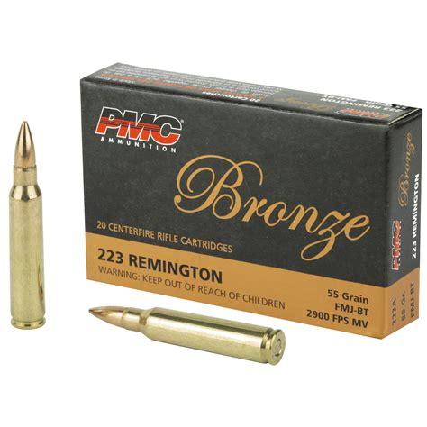Pmc Ammo 223 Remington 55gr Bt Fmj 20-pk
