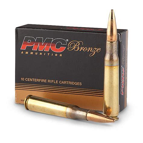 PMC Ammo Bronze Ammunition 50 BMG 660gr FMJ BT 10 Round Box