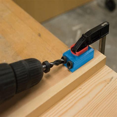 Pocket hole drill jig Image