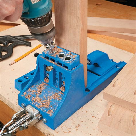 Pocket hole joinery tools Image