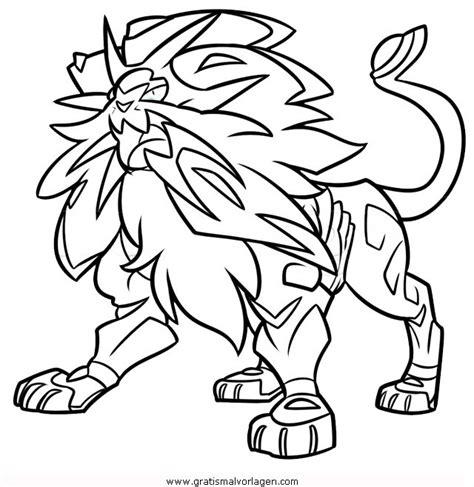 Pokemon Ausmalbilder Kostenlos Solgaleo
