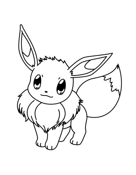 Pokemon Malvorlagen Evoli