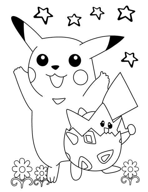 Pokemon Malvorlagen Pikachu