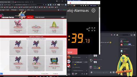 Pokemon Vortex Training