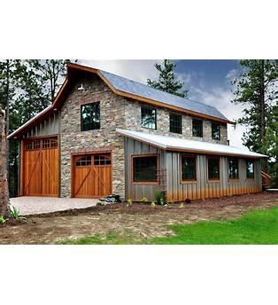 Pole Barn Garage And Apartment Plan