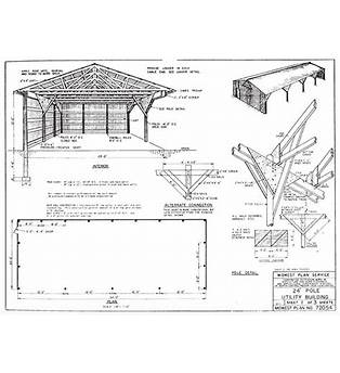 Pole Barn House Plans Free