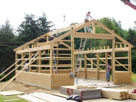 Pole barn plans free Image