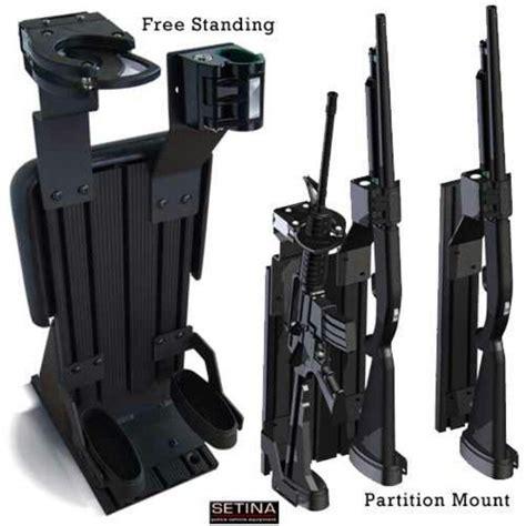 Police Shotgun Rack