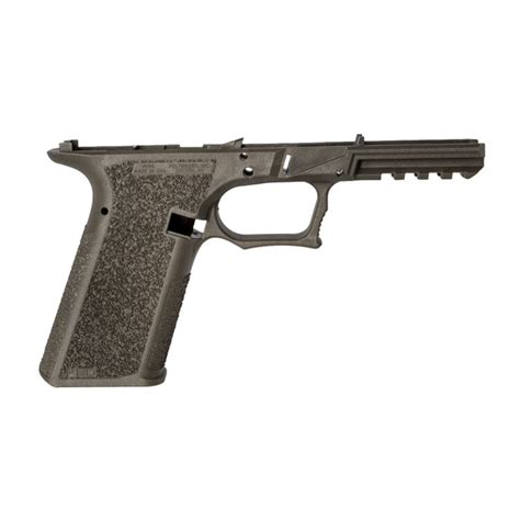 Polymer80 Pfs9 Serialized Frame For Glock1722 Pfs9 Serialized Frame For G1722 Std Texture Od Green
