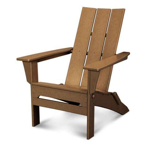 Polywood folding adirondack chairs Image