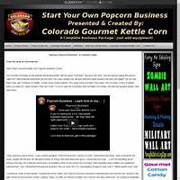 Popcorn business start a gourmet kettle corn popcorn business experience
