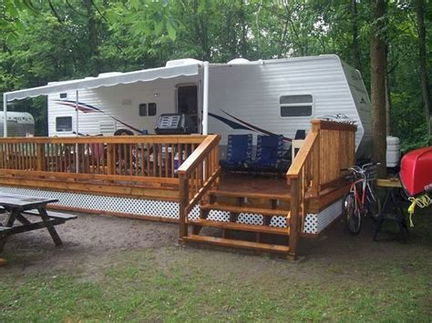 Porch designs for trailers Image