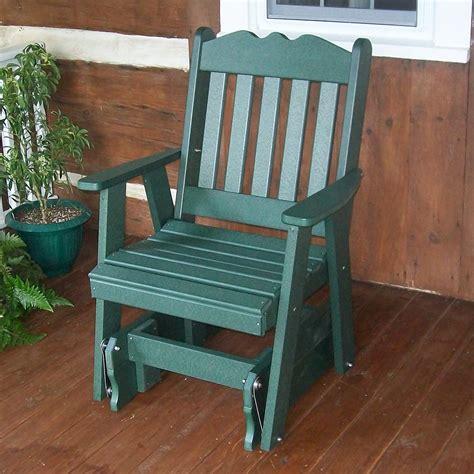 Porch glider chair Image