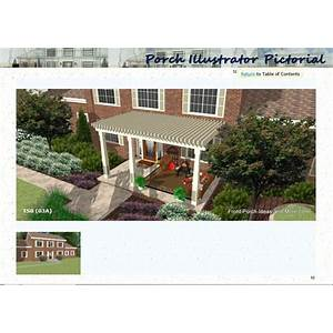 Buy porch illustrator pictorial a picture ebook of front porch designs from many different angles