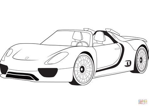 Porsche Malvorlage