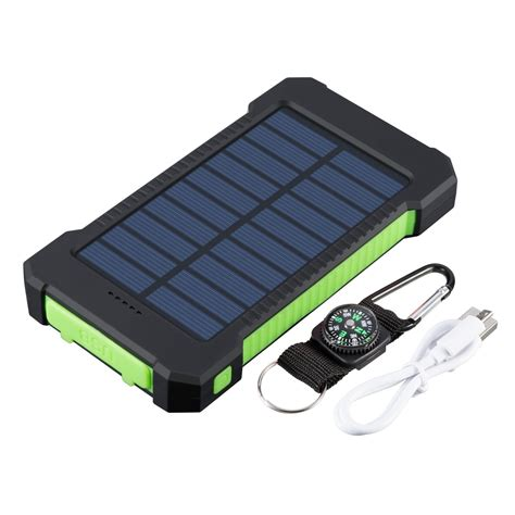 Portable solar powered phone charger Image