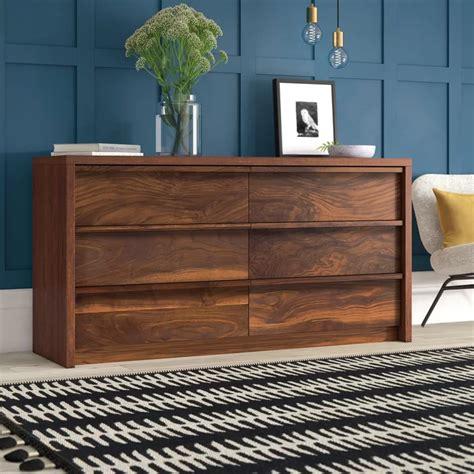 Posner 6 Drawer Double Dresser