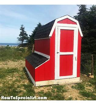 Pottery Barn Chicken Coop Plans