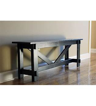 Pottery Barn Entry Bench Plans