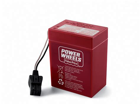 power wheels 6 volt battery charger red pdf manual