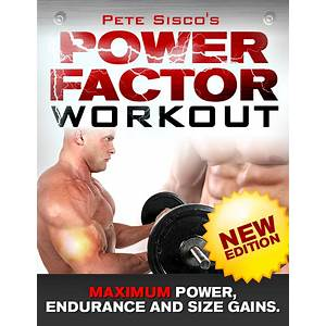 Power factor workout: maximum power, endurance and size gains edition coupons