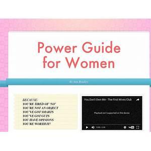 Power guide for women empowering women through self improvement cheap