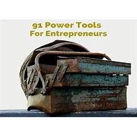 Power tools for entrepreneurs comparison
