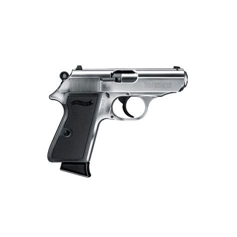 Ppk S 3 35in 22 Lr Nickel 10 1rd Walther Arms Inc