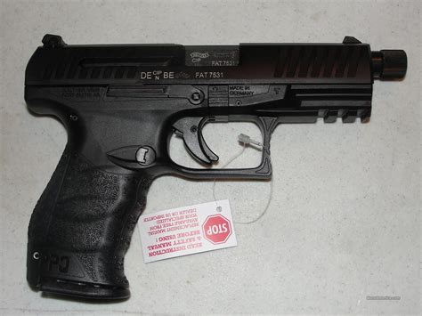 Ppqm2 Navy Sd 4 6in 9mm Black 15 1rd By Walther Arms Inc