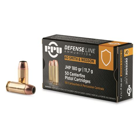 Ppu 40 S W Ammo Review