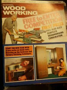 Practical woodworking magazine back issues Image