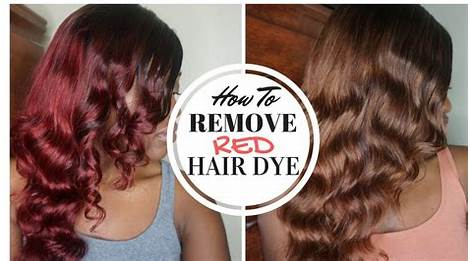 Best 54 Pravana Color Extractor How To Remove Red Hair Dye Without