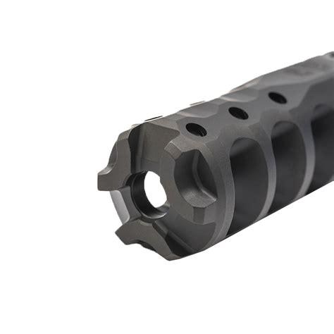 Precision Armament Hypertap Muzzle Brake 22 Caliber Hypertap 556 Muzzle Brake 22 Caliber 1228 Stainless