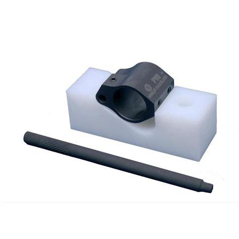 Precision Reflex Gas Block Assembly Fixture Gas Block Assembly Fixture W Roll Pin Starter